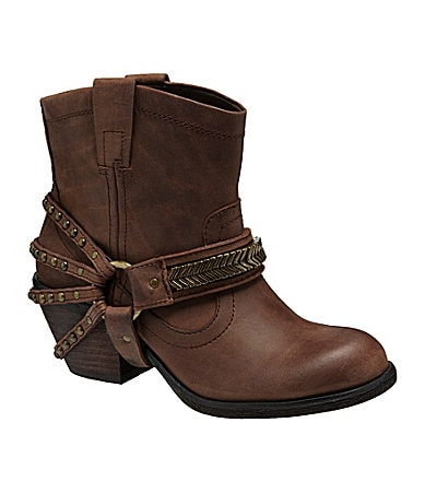 GB Gianni Bini Saddle-Up Booties