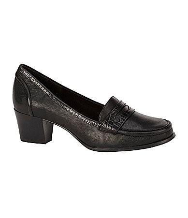 Michelle D Mimi Exotic-Trim Loafers