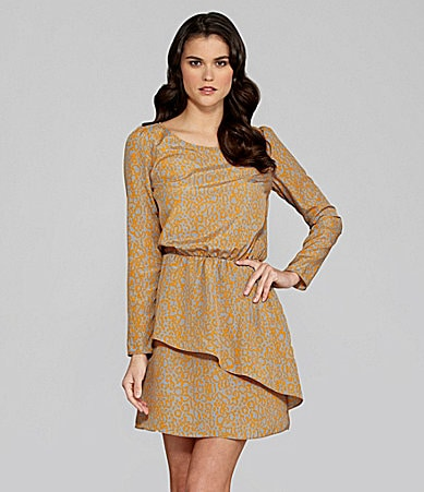 Gianni Bini Cali Leopard-Print Dress