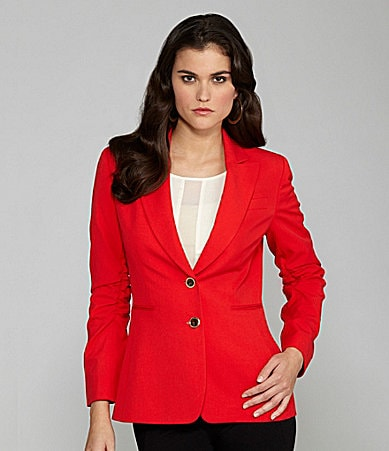 Gianni Bini Kelcie Ruched-Sleeve Jacket