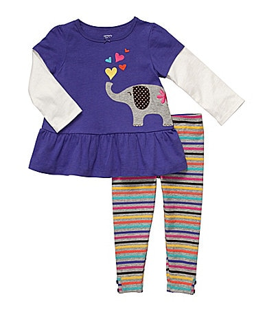 Carter�s Newborn 2-Piece Pants Set