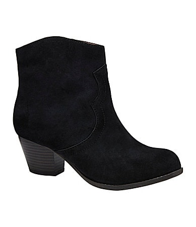 Lucky Brand Tablita Western-Inspired Booties