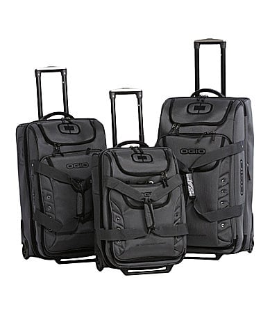 Ogio Ascender Charcoal Wheeled Duffel Collection
