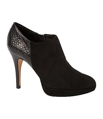 Vince Camuto Elvin Mixed-Media Booties