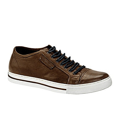 Kenneth Cole New York Men�s On the Double Leather Sneakers