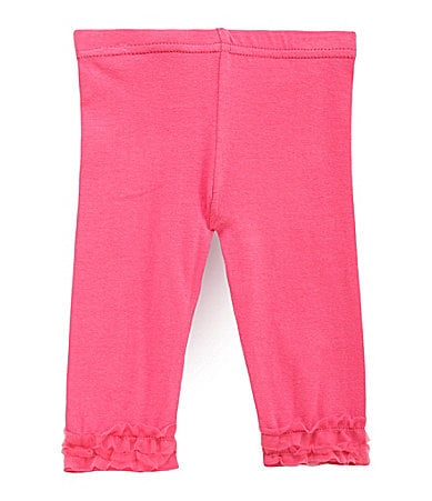 Baby Starters Newborn Tutu-Trim Leggings
