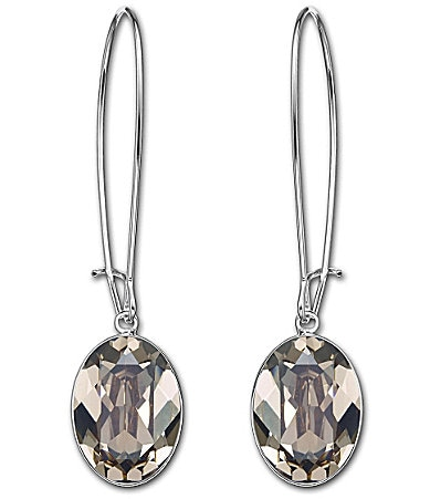 Swarovski Puzzle Drop Earrings