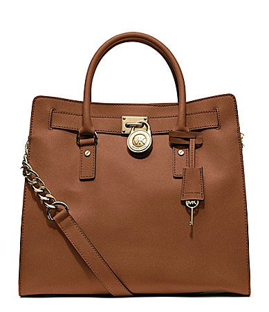 MICHAEL Michael Kors Large Hamilton North/South Saffiano Leather Tote