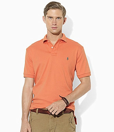 Polo Ralph Lauren Classic-Fit Short-Sleeved Cotton Interlock Polo