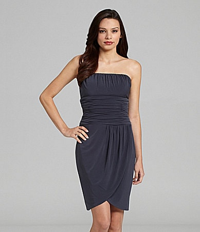 Calvin Klein Strapless Cocktail Dress