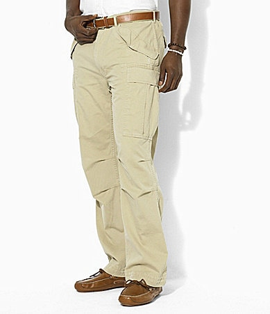 Polo Ralph Lauren Big & Tall Rugged Vintage Chino Fatigue Pants