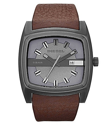Diesel Brown-Grey Analog Watch