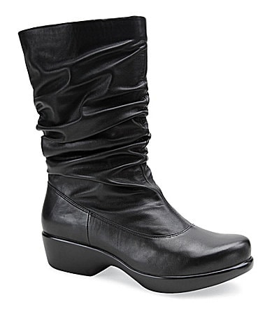 Dansko Aurora Ruched-Shaft Boots