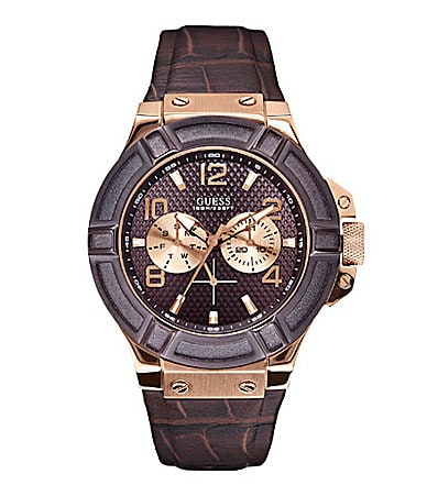 Guess Men�s Rugged Casual Sport Watch