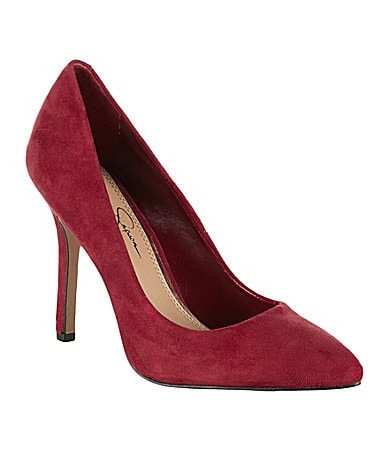 Jessica Simpson Adeni Pointed-Toe Pumps