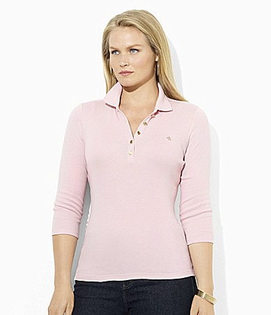 Lauren Ralph Lauren Woman Cotton Jersey Polo Shirt