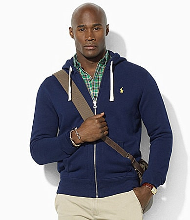 Polo Ralph Lauren Big & Tall Full-Zip Classic Fleece Hooded Sweatshirt