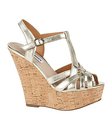 Steve Madden Wildness Wedge Sandals