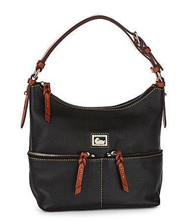 Dooney & Bourke Small Zip Pocket Satchel Bag