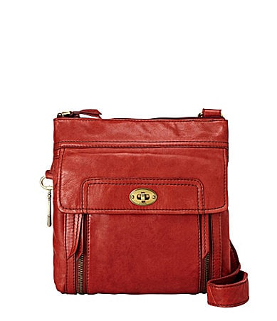Fossil Stanton Traveler Cross-Body Bag