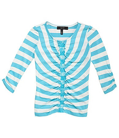 Jessica Simpson Tweenwear 7-16 Striped Top