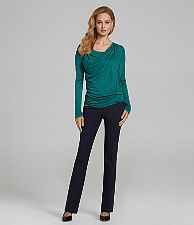 Antonio Melani Reese Knit Top & Payten Tuxedo-Stripe Pants