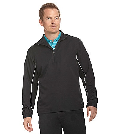 Callaway Quarter-Zip Soft-Shell Windshirt