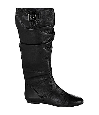GB Gianni Bini Big-Time Leather Boots