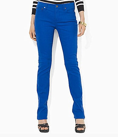 Lauren Jeans Co. Slimming Modern Straight-Leg Jeans