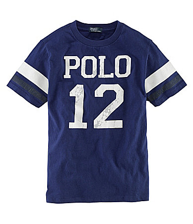 Ralph Lauren Childrenswear 8-20 Polo 12 Graphic Tee