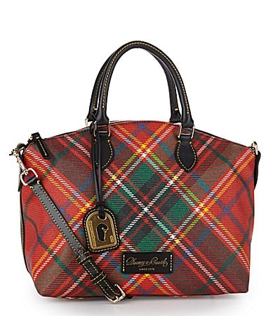 Dooney & Bourke Plaid Satchel