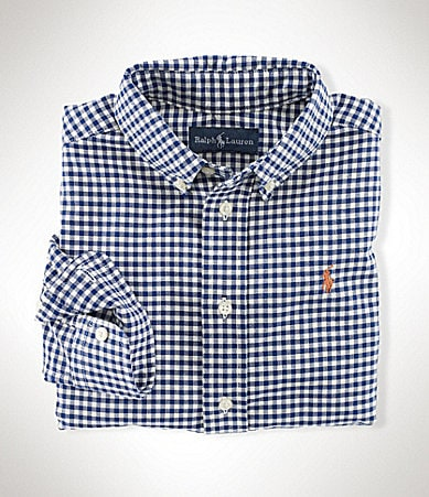 Ralph Lauren Childrenswear 2T-7 Gingham Blake Shirt