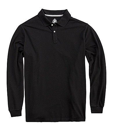 Roundtree & Yorke Big & Tall Trademark Solid Polo Shirt