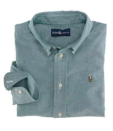Ralph Lauren Childrenswear 2T-7 Long-Sleeve Blake Shirt