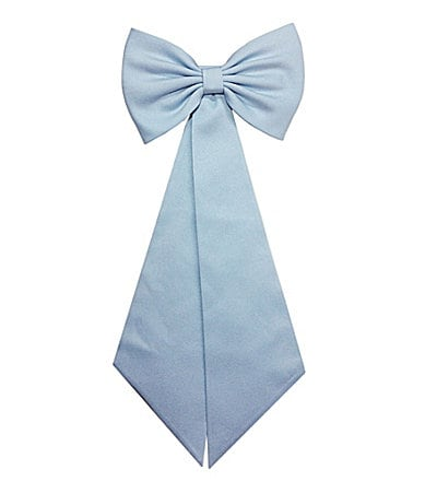 Pippa & Julie 4-6X Powder Blue Satin Sash