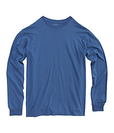 Roundtree & Yorke Big & Tall Solid Crewneck Tee
