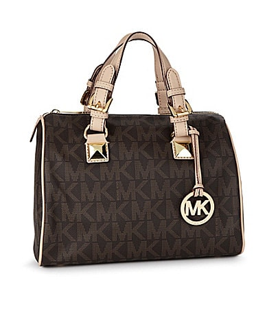 MICHAEL Michael Kors Medium Grayson Satchel