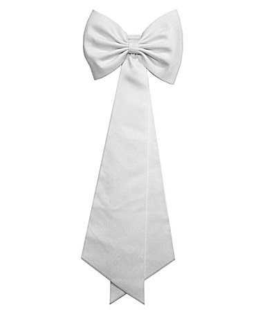 Pippa & Julie 7-12 White Satin Sash