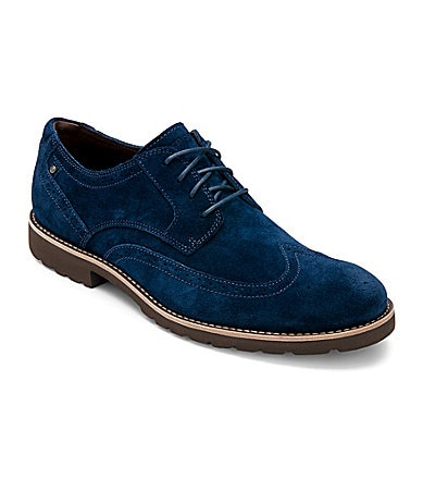 Rockport Men�s Ledge Hill Wingtip Oxfords
