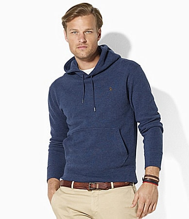 Polo Ralph Lauren Long-Sleeved French-Rib Hoodie