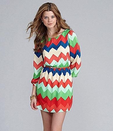 GB Chevron Dress