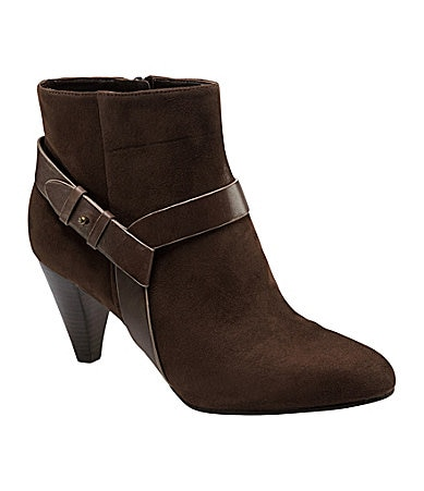 Cole Haan Calico Suede Booties