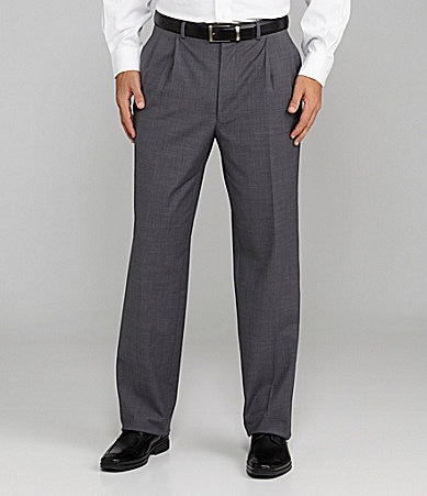 Cremieux Travel Smart Pleated Dress Pants