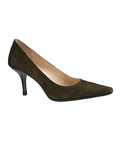 Calvin Klein Dolly Suede Pumps