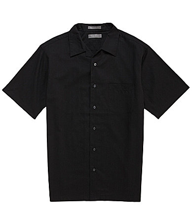 Daniel Cremieux Signature Short-Sleeve Camp Shirt