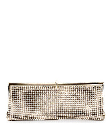 Kate Landry Social Crystal Mesh Clutch