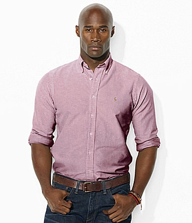 Polo Ralph Lauren Classic-Fit Solid Cotton Oxford Shirt