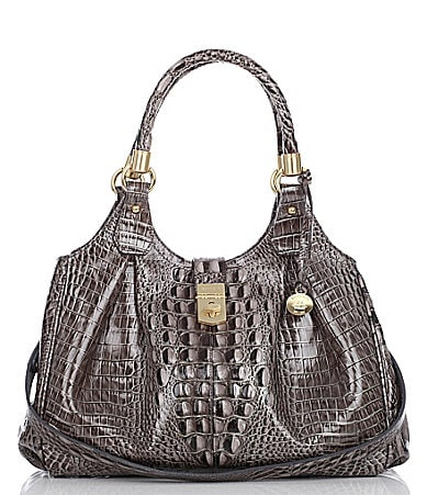 Brahmin Glossy Collection Elisa Satchel