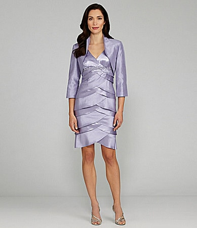 Jessica Howard 2-Piece Jacket Dress