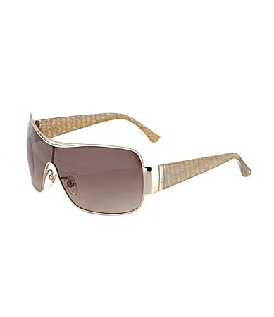 MICHAEL Michael Kors Rae Shield Sunglasses